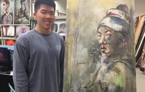 Student artist talks about his creativity