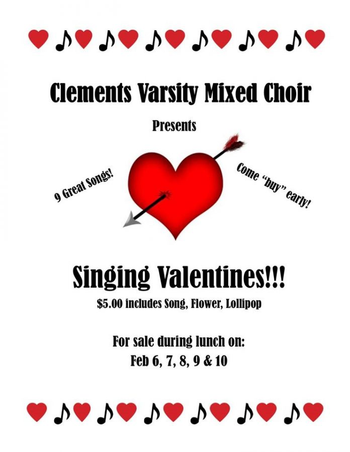 Singing Valentines available