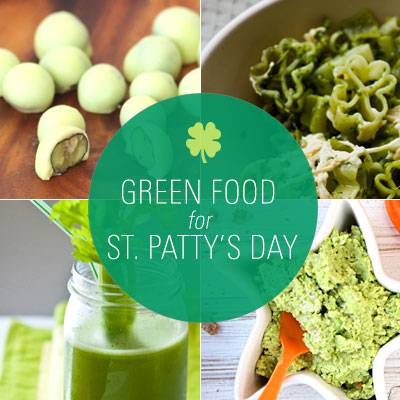 Green foods bring festive light to St. Patrick's Day
