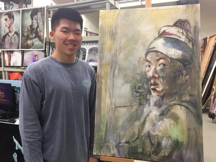 Student+artist+talks+about+his+creativity