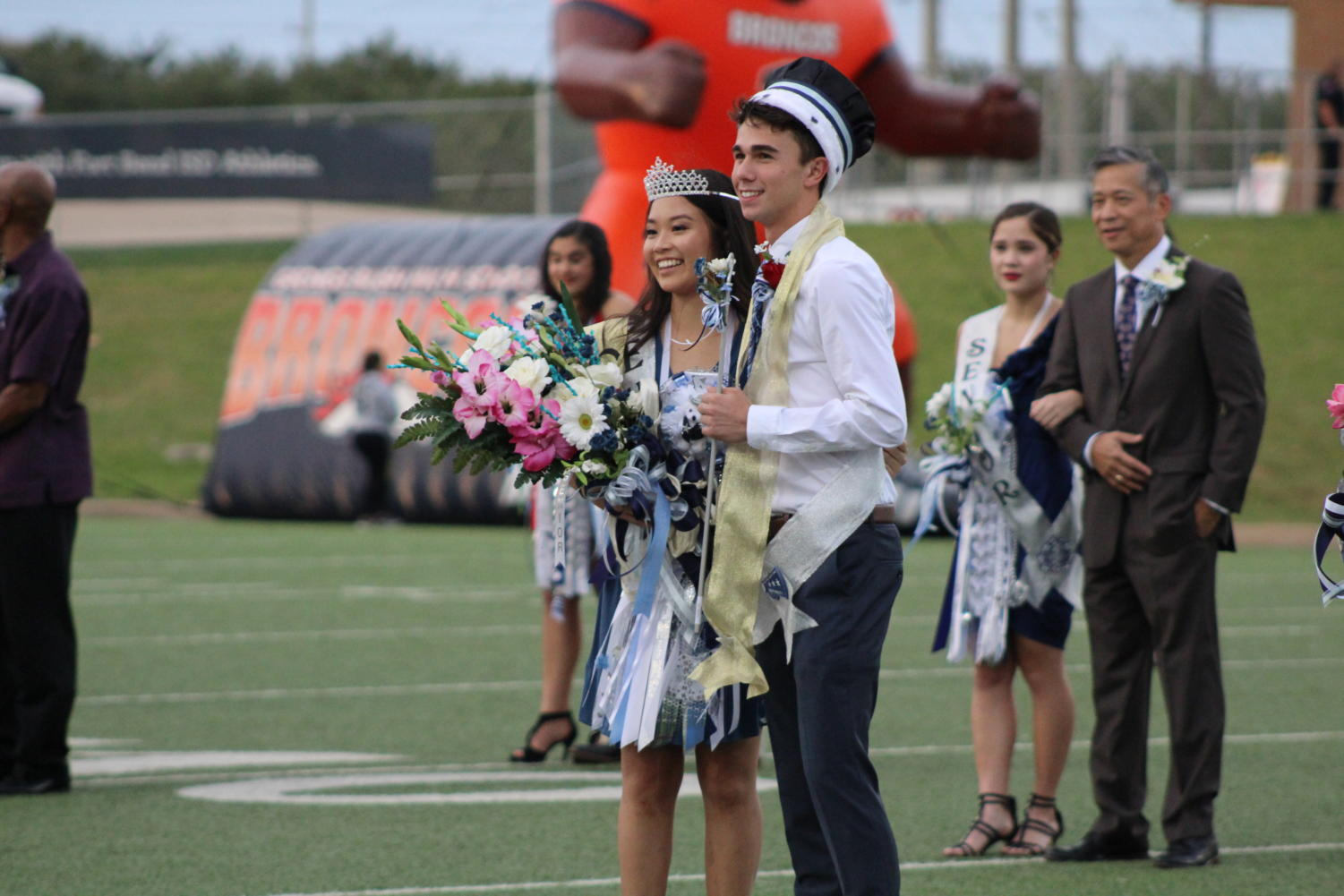 Allyson Ho, Homecoming Queen and Chris Spartalis, Homecoming King