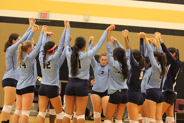 Volleyball sets up for playoffs