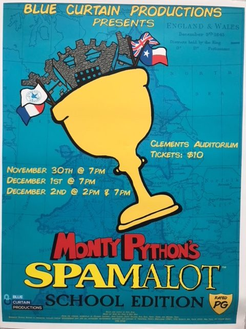 Theater+strives+to+perfect+upcoming+musical%2C+%22Spamalot%22
