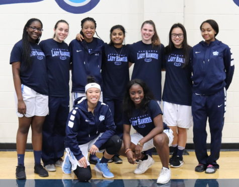 Senior basketball girls reflect on the past 4 years