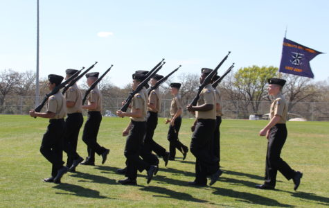 ROTC displays strength at recent contest