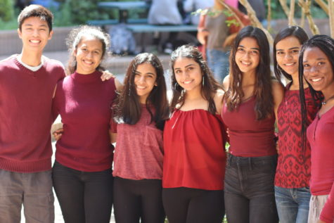 Students support Mental Health Awareness Week by wearing maroon and silver to commemorate the lives lost at Douglas High School.