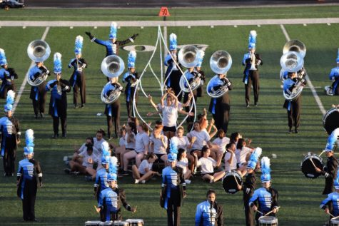 Behind the magic: band and guard aim for success