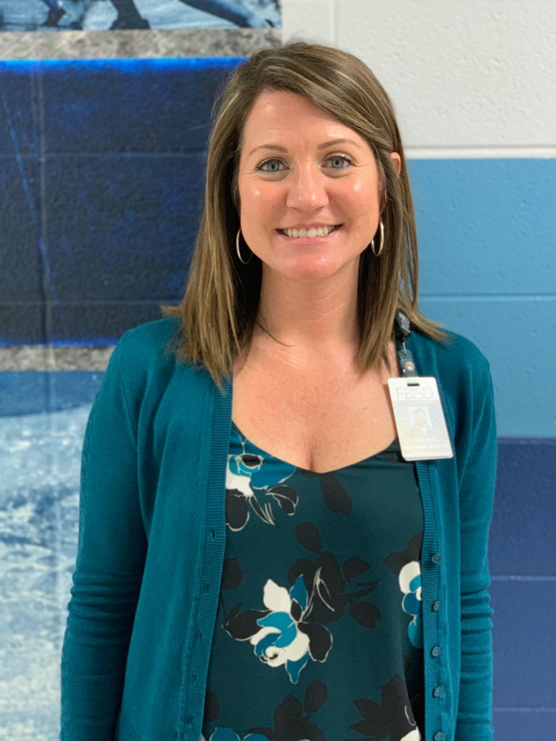 Instructional Officer, Kelley Kirila