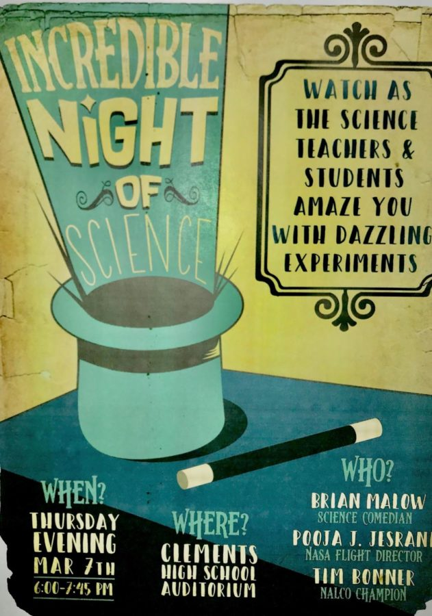 An Incredible Night of Science