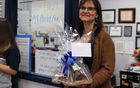Mrs. Menzie named Teacher of the Year
