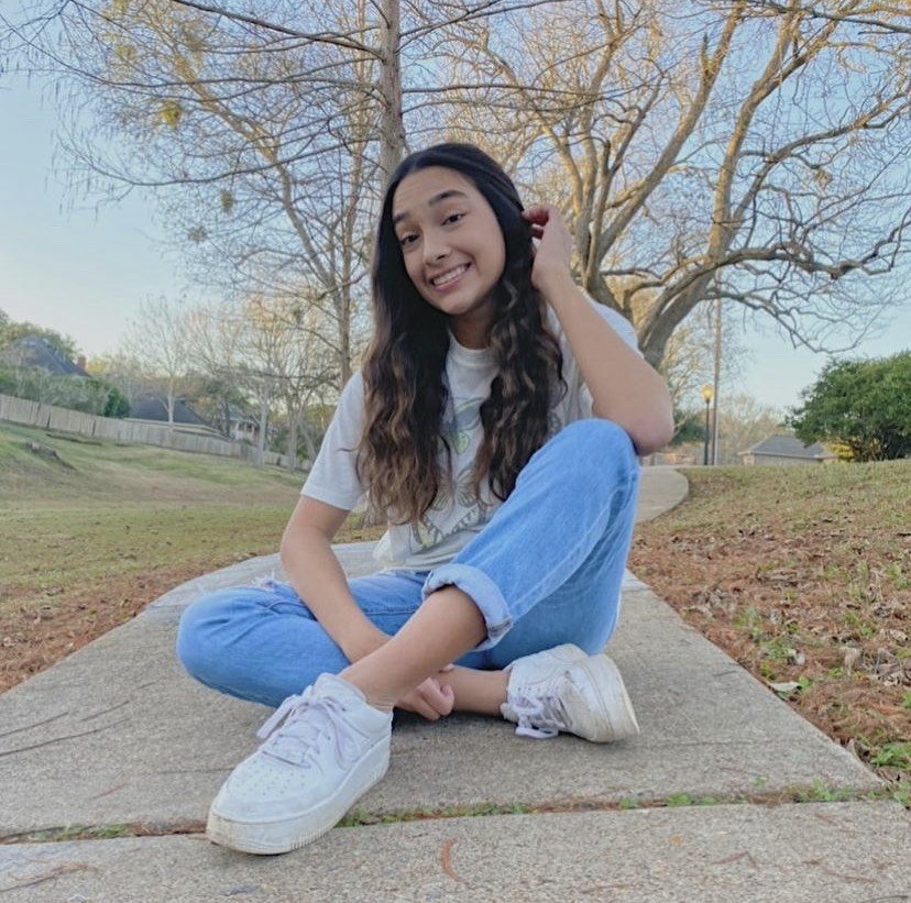 Malaya Cimino, a sophomore here at Clements High School.